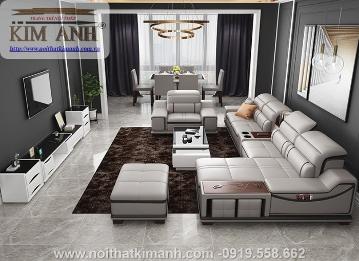 Bộ sưu tập những bộ ghế sofa da công nghiệp ấn tượng nhất năm 20216