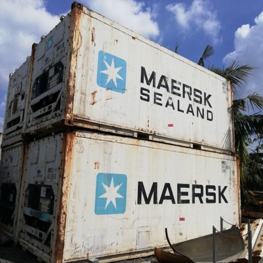 Container lạnh 20feet MAERSK0