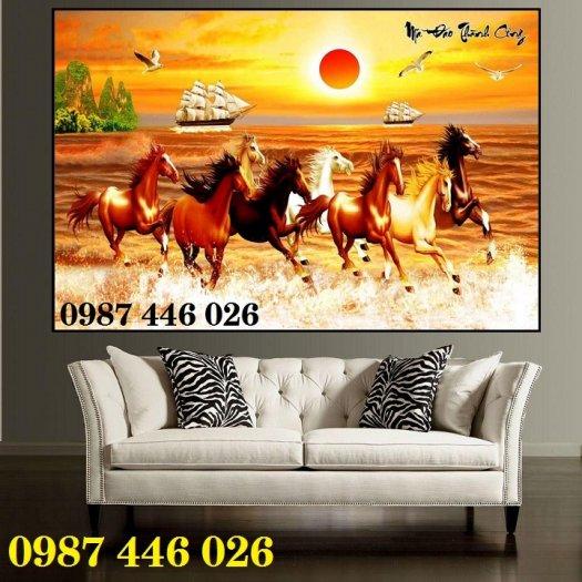 Gạch tranh ngựa ốp tường đẹp HP98905