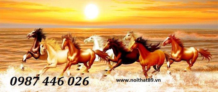 Gạch tranh ngựa ốp tường đẹp HP98904