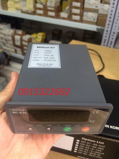 MI830 - Đồng hồ cân Hàn Quốc chuyên dùng cho trạm trộn, cân đóng bao, cân sàn...2
