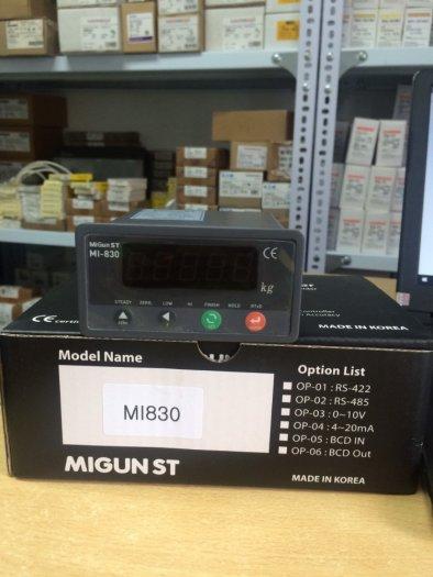 MI830 - Đồng hồ cân Hàn Quốc chuyên dùng cho trạm trộn, cân đóng bao, cân sàn...0