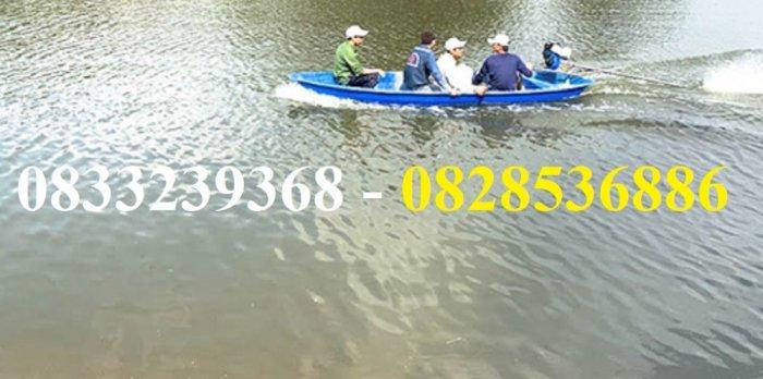 Thuyền câu cá cho 2,3,4 người tùy chọn mái che, gắn máy2