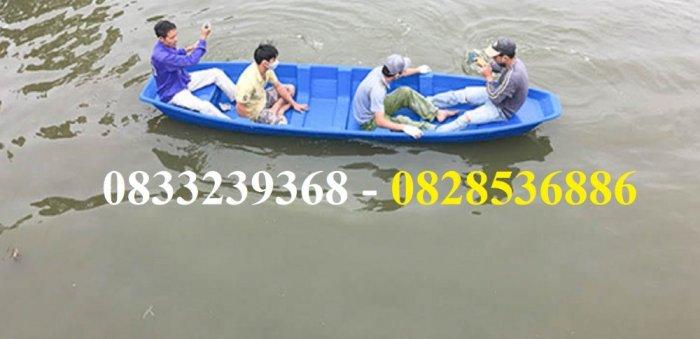 Thuyền câu cá cho 2,3,4 người  tùy chọn mái che, gắn máy5