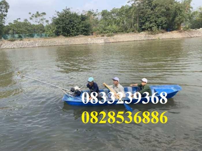 Thuyền câu cá cho 2,3,4 người  tùy chọn mái che, gắn máy3