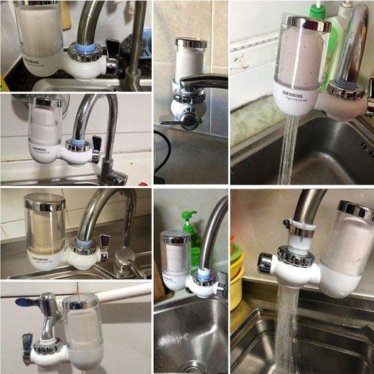 Máy lọc nước tại vòi, Lọc nước đầu vòi SIEMENS công nghệ ĐỨC3