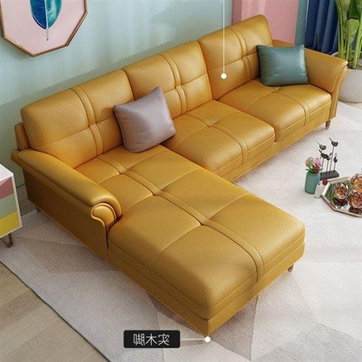 Các mẫu sofa góc chữ L bằng da  cho phòng khách đẹp Bình Dương3