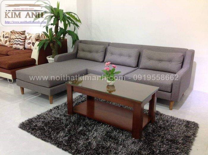 Các mẫu sofa góc chữ L bằng da  cho phòng khách đẹp Bình Dương1