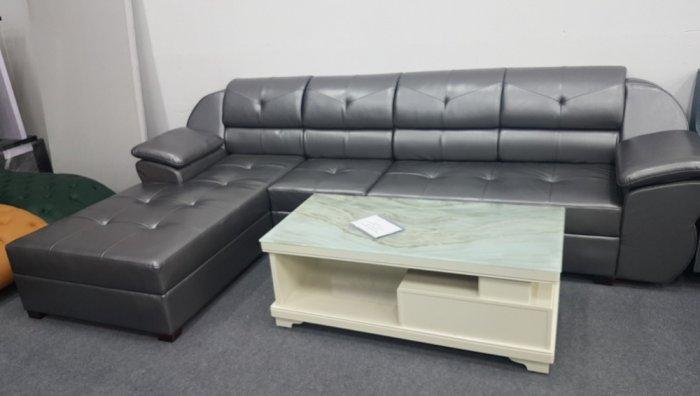Các mẫu sofa góc chữ L bằng da  cho phòng khách đẹp Bình Dương0