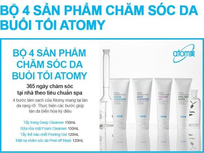 Sữa rửa mặt Atomy Foam Cleanser0