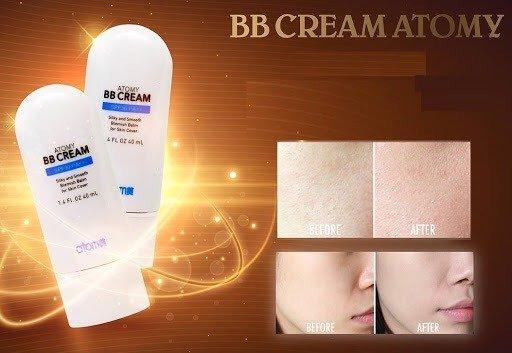 Kem che khuyết điểm Atomy BB Cream2