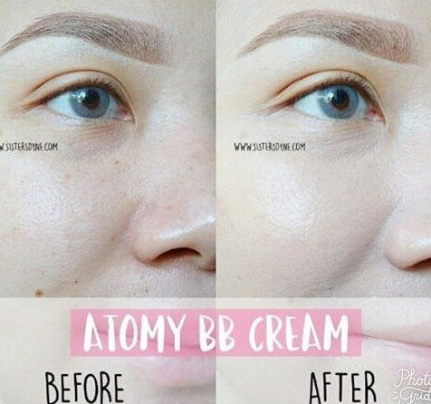 Kem che khuyết điểm Atomy BB Cream1