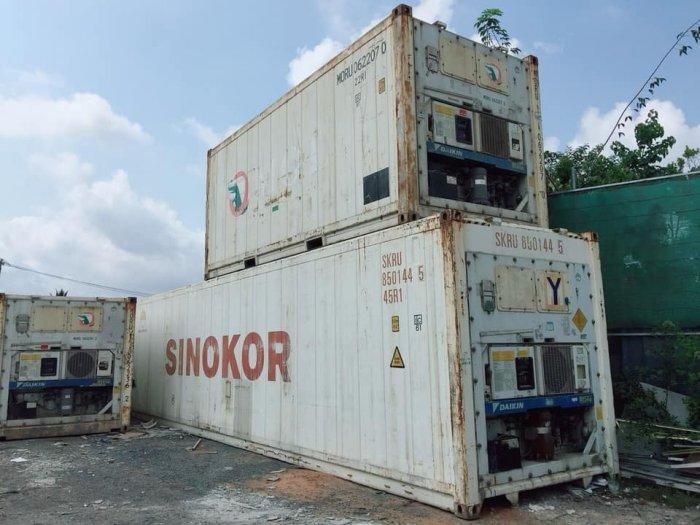 Container lạnh máy âm 25 độ0