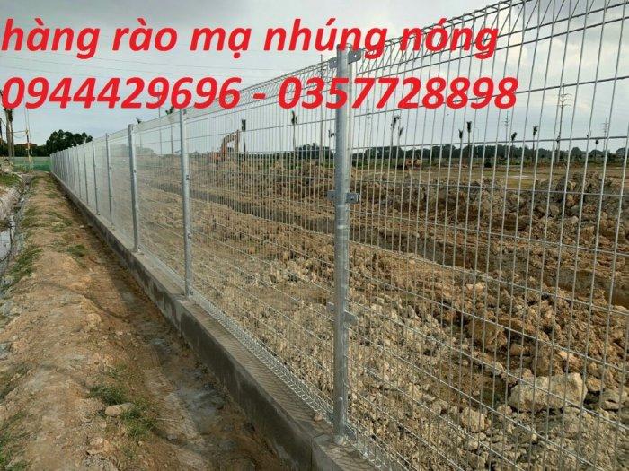 Sản Xuất Hàng Rào Lưới Thép Hàn D3, D4, D5,D65