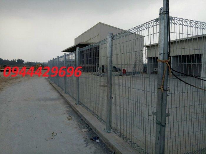 Sản Xuất Hàng Rào Lưới Thép Hàn D3, D4, D5,D63