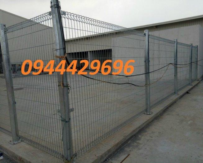 Sản Xuất Hàng Rào Lưới Thép Hàn D3, D4, D5,D62
