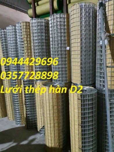Lưới Thép Hàn D2 A 25X25 sẵn kho5