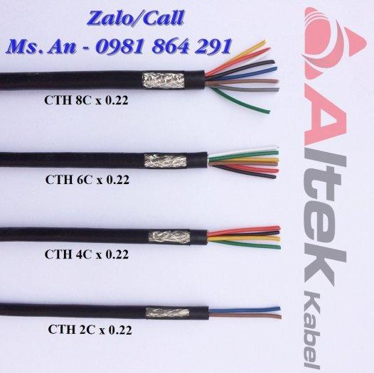 Cáp tín hiệu 2,4,6,8 lõi chống nhiễu hàng chất lượng giá tốt2
