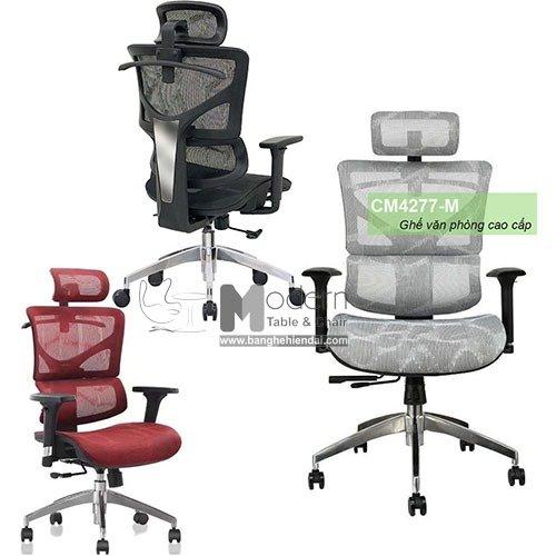 Ghế văn phòng lưng lưới cao cấp dành cho trưởng phòng HCM0