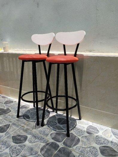 Ghế bar nệm khung sắt sơn tĩnh điện1