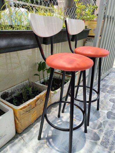 Ghế bar nệm khung sắt sơn tĩnh điện2