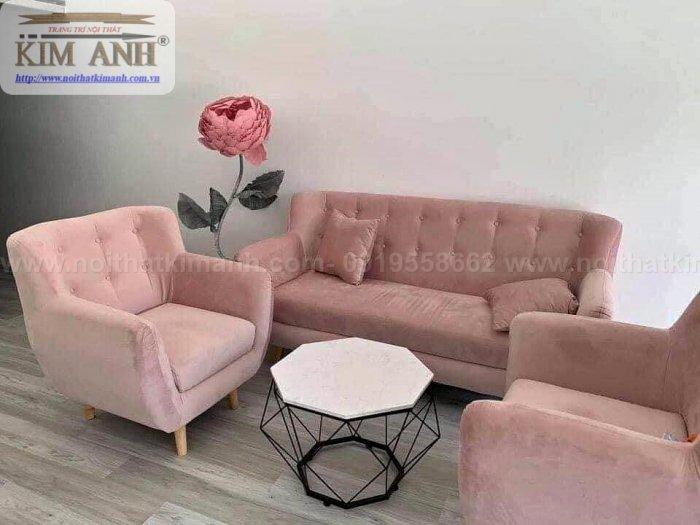 Top 10 Ghế Sofa Nhung Đẹp Đột Phá Phong Cách Màu Sắc7