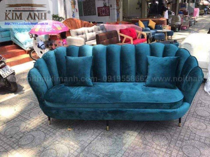 Top 10 Ghế Sofa Nhung Đẹp Đột Phá Phong Cách Màu Sắc4
