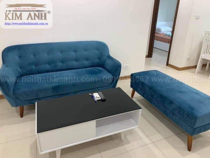 Top 10 Ghế Sofa Nhung Đẹp Đột Phá Phong Cách Màu Sắc2
