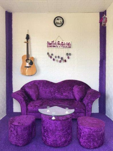 Top 10 Ghế Sofa Nhung Đẹp Đột Phá Phong Cách Màu Sắc0
