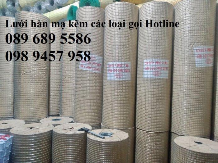 Lưới thép dây 1ly ô 10x10, 20x20, Lưới hàn bọc nhựa, Lưới hàn mạ kẽm18