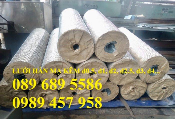 Lưới thép dây 1ly ô 10x10, 20x20, Lưới hàn bọc nhựa, Lưới hàn mạ kẽm16