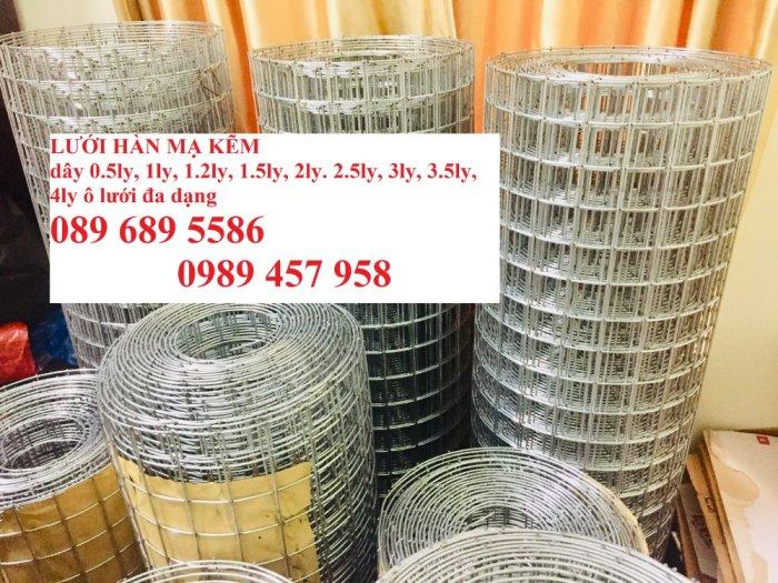 Lưới thép dây 1ly ô 10x10, 20x20, Lưới hàn bọc nhựa, Lưới hàn mạ kẽm8