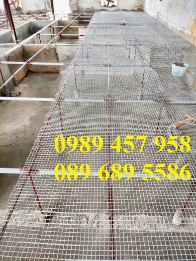 Lưới đỡ bông thủy tinh, lưới mạ kẽm dây 0,5ly, 0,7ly, 1ly, 1,2ly, 1,5ly, 2ly, 2,5ly và 3ly2