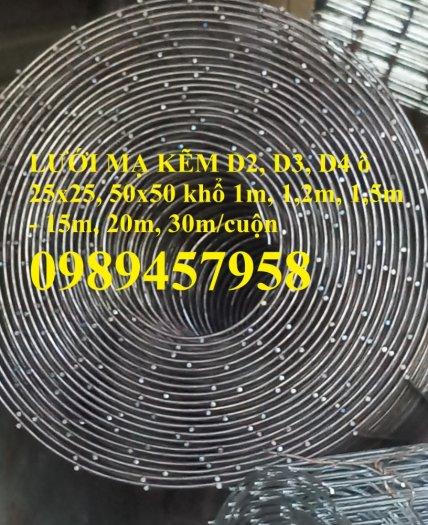 Lưới đỡ bông thủy tinh, lưới mạ kẽm dây 0,5ly, 0,7ly, 1ly, 1,2ly, 1,5ly, 2ly, 2,5ly và 3ly0