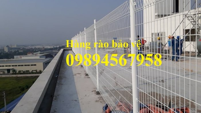 Lưới thép hàng rào mạ kẽm phi 5 50x200, Hàng rào phi 6 ô 50x20014