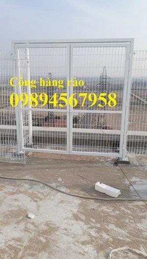 Lưới thép hàng rào mạ kẽm phi 5 50x200, Hàng rào phi 6 ô 50x20012