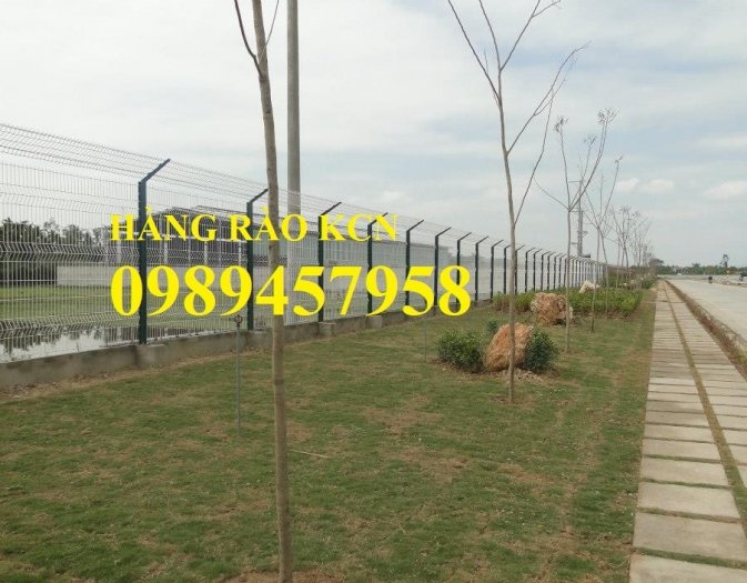 Lưới thép hàng rào mạ kẽm phi 5 50x200, Hàng rào phi 6 ô 50x2007