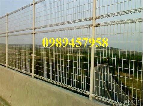 Lưới thép hàng rào mạ kẽm phi 5 50x200, Hàng rào phi 6 ô 50x2006