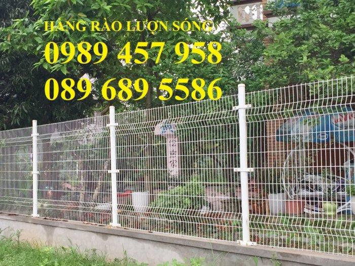 Lưới thép hàng rào mạ kẽm phi 5 50x200, Hàng rào phi 6 ô 50x2002
