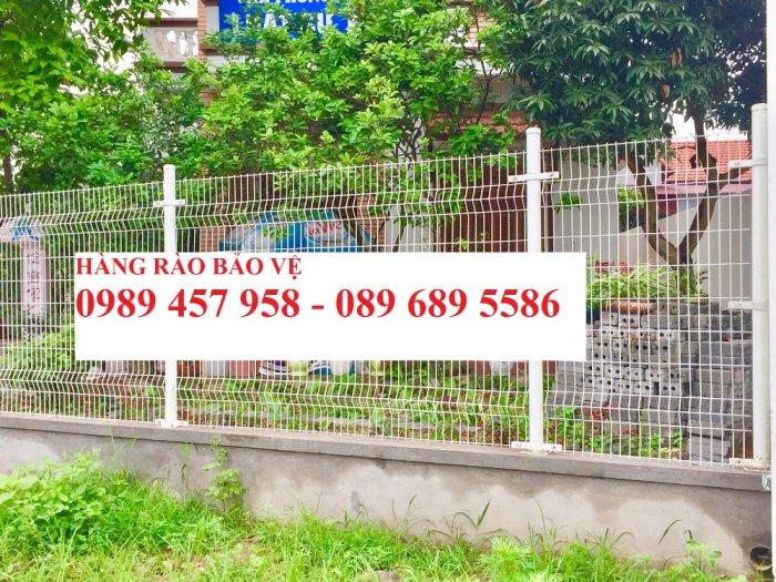 Lưới thép hàng rào mạ kẽm phi 5 50x200, Hàng rào phi 6 ô 50x2001