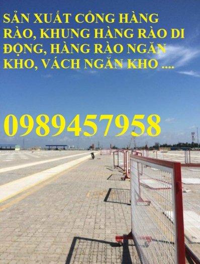 Lưới thép hàng rào mạ kẽm phi 5 50x200, Hàng rào phi 6 ô 50x2000