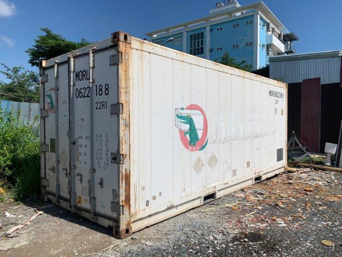 Thùng container lạnh 20feet hàng Nhật2