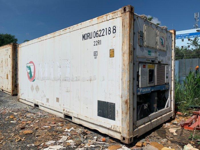 Thùng container lạnh 20feet hàng Nhật1