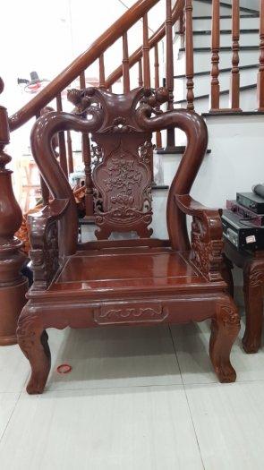 Bộ bàn ghế gỗ Lim Nam Phi4