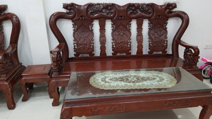 Bộ bàn ghế gỗ Lim Nam Phi1