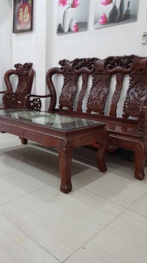 Bộ bàn ghế gỗ Lim Nam Phi0