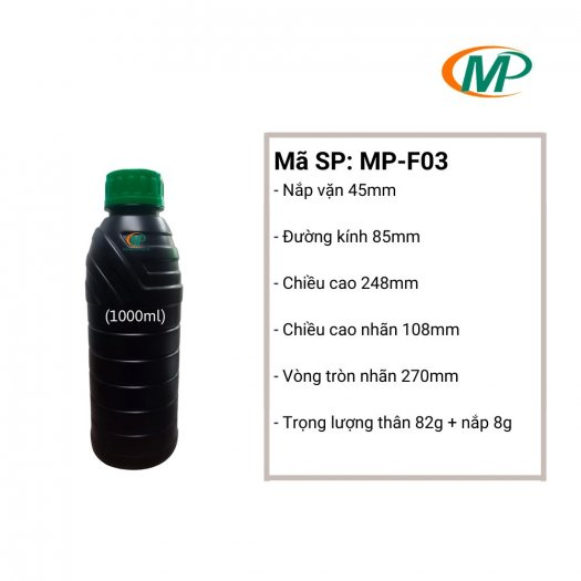 Chai Nhựa Đựng Thuốc Thú Y, Chai Nhựa Đựng Thuốc Thủy Sản, Chai Nhựa Đựng Phụ Gia Chăn Nuôi21