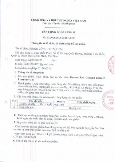 Tinh Chất Hồng Sâm Pha Sẵn Extract Everytime Original (30 gói)2