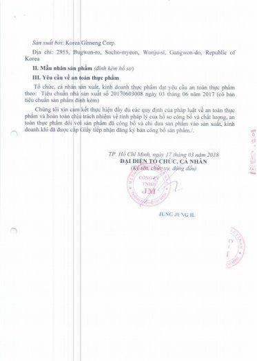 Tinh Chất Hồng Sâm Pha Sẵn Extract Everytime Original (30 gói)1