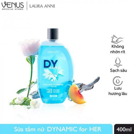 Sữa Tắm Nước Hoa Laura Anne Dynamic For Her 400ml2